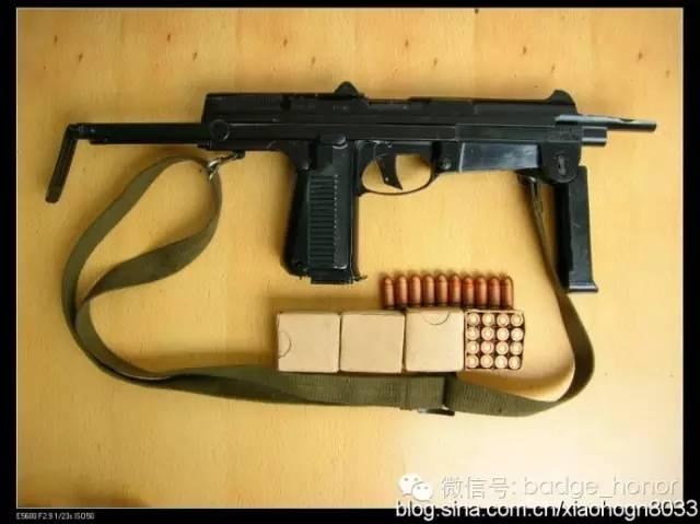 微型冲锋_82式微型冲锋枪