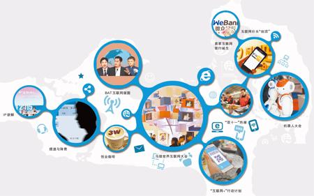 """""""互联网+""""的中国——盘点2015年中国互联网发展十件大事"""