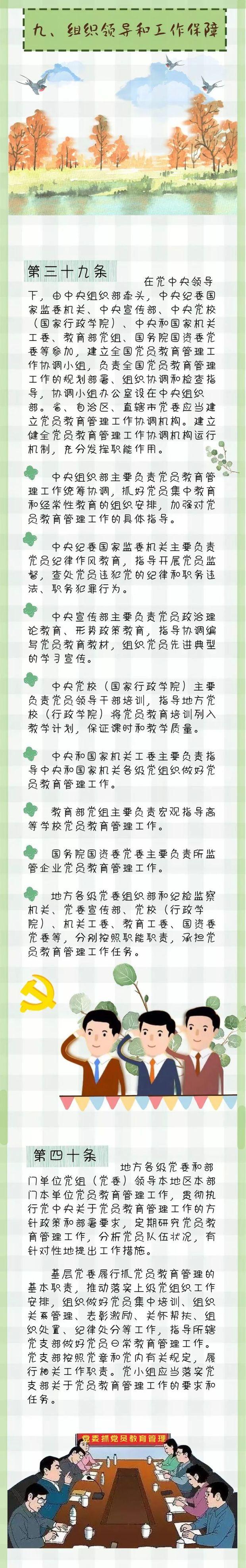图说中国共产党党员教育管理工作条例(下)