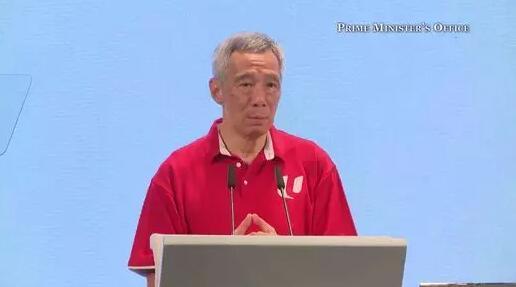 """新加坡总理李显龙:示威者""""五大诉求""""旨在推翻香港政府"""