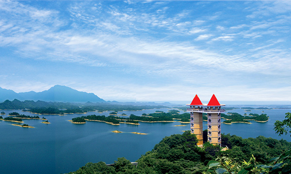 武宁西海风景区峡谷